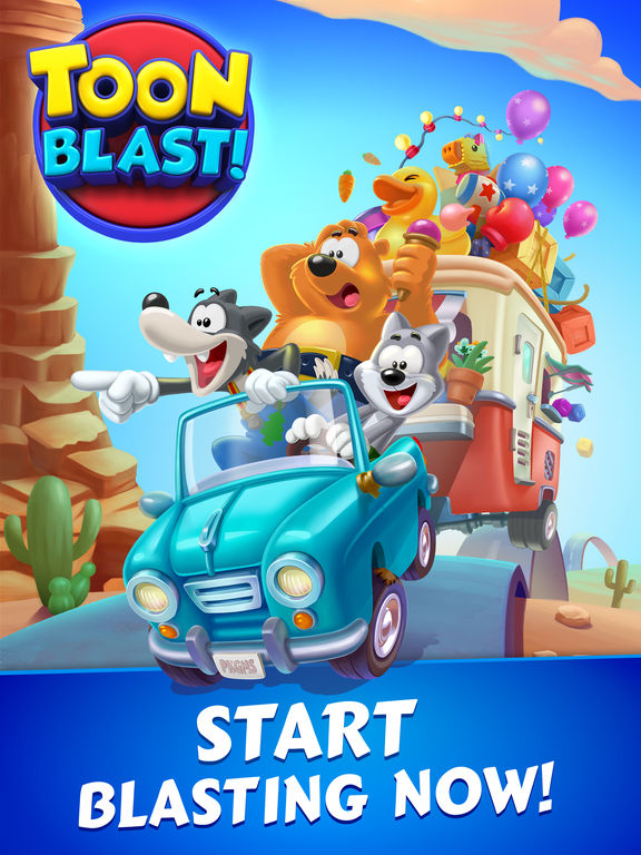 Screenshot 5 Toon Blast