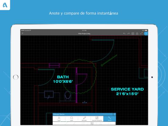 Autocad editor dwg en el app store for Home design 3d professional italiano gratis