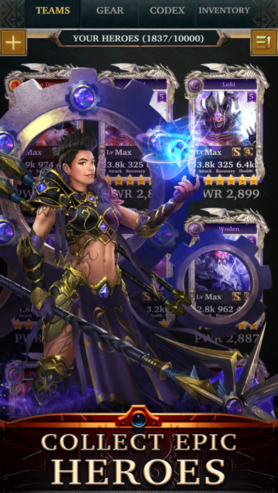 download Legendary - Game of Heroes appstore review