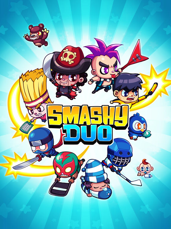Smashy Duo iOS Screenshots