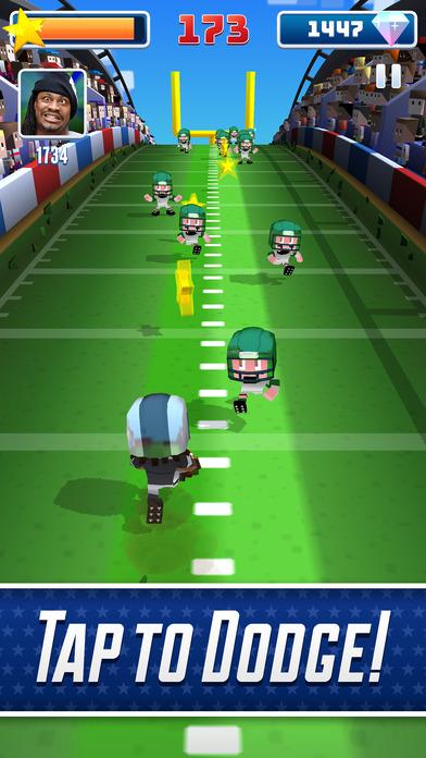Screenshot 2 Marshawn Lynch Blocky Football