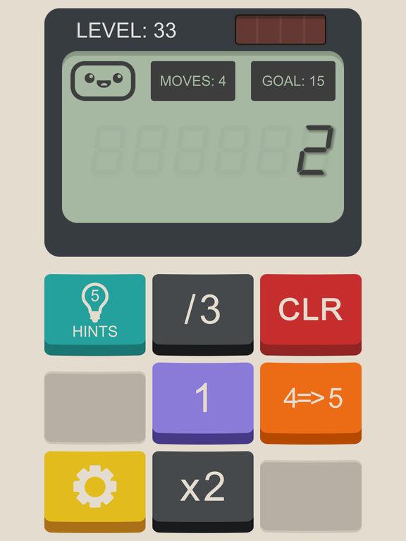 Screenshot 2 Calculator: The Game
