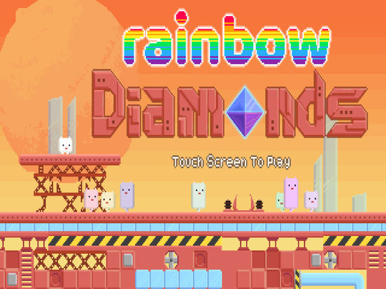 Screenshot 1 Rainbow Diamonds