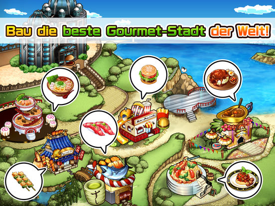 Screenshot 2 Meshi Quest  - Five-star Kitchen -