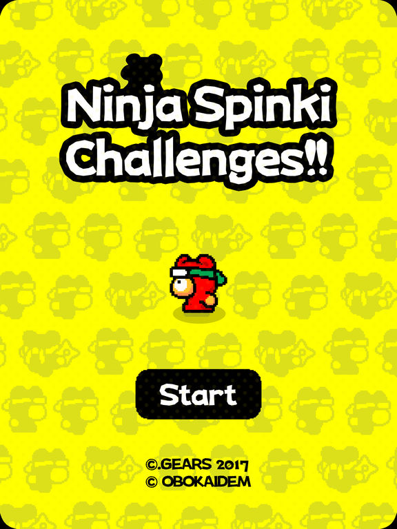 Ninja Spinki Challenges!! iOS Screenshots