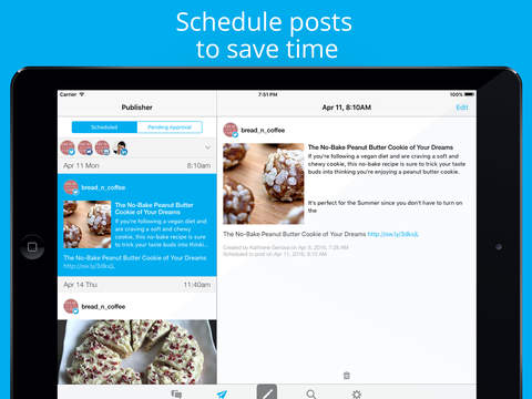 Hootsuite per Twitter, Instagram & Social Media Screenshot