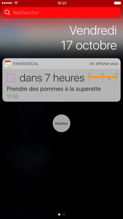 Fantastical 2 pour iPhone - Calendrier et Rappels Capture d'écran