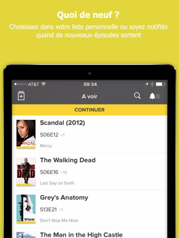 TV Time, calendrier pour fans de séries Capture d'écran