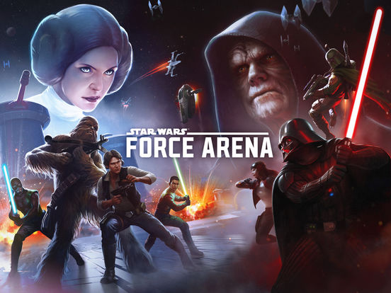 Star Wars™: Force Arena iOS Screenshots