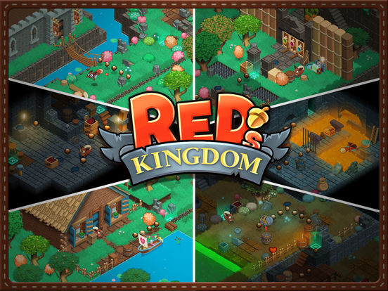 Red's Kingdom iOS Screenshots