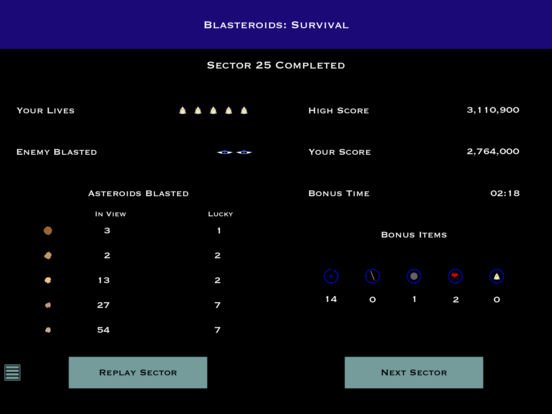Blasteroids: Survival Screenshots