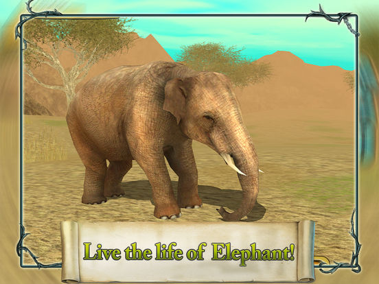3D Elephant Simulation Premium Screenshots