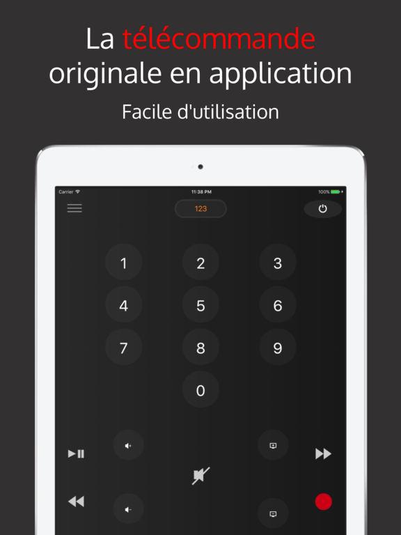 T l corange t l commande orange livebox tv dans l app store - Application telecommande orange ...