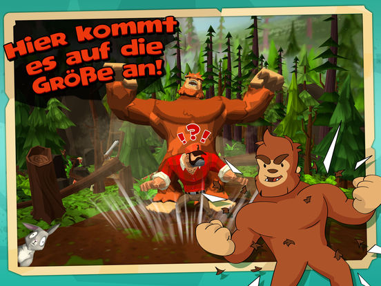 Screenshot 2 Little Bigfoot: Ein episches Schleichabenteuer