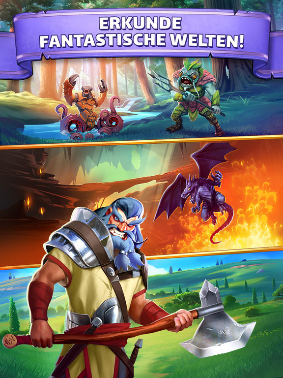 Screenshot 4 Empires & Puzzles: RPG Quest