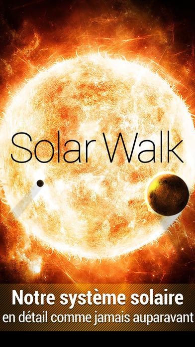 Solar Walk™ – Modèle 3D du Système Solaire iPhone