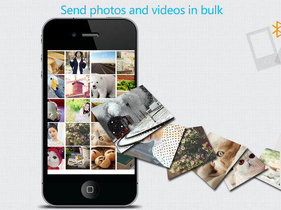 Photo Share & photo or video transfer Screenshots