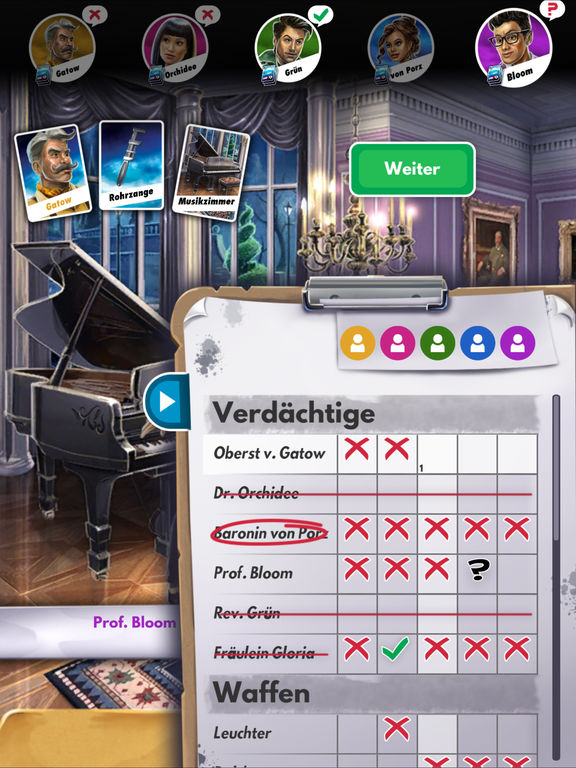 Screenshot 2 Cluedo: Das klassische Detektivspiel