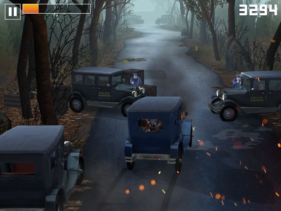 Live By Night - The Chase iOS Screenshots