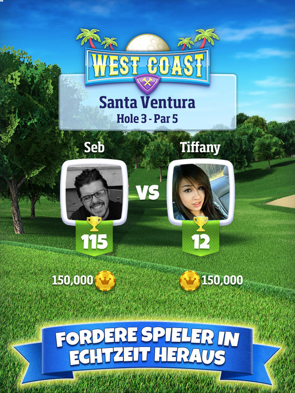 Golf Clash iOS
