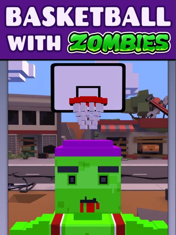 Zombie Free Throw iOS Screenshots