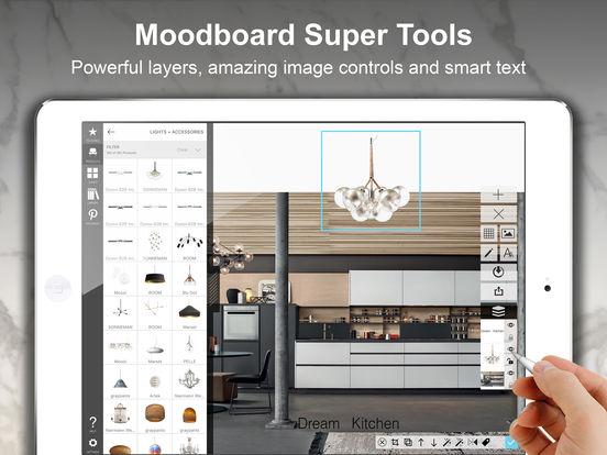 morpholio board interior design decor moodboard on the