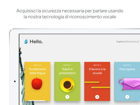 Apprendi lingue con Rosetta Stone Screenshot