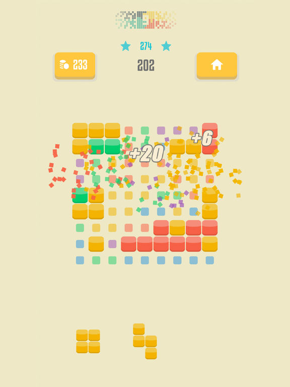 Screenshot 1 9squared! - Stack and match colored blocks puzzle