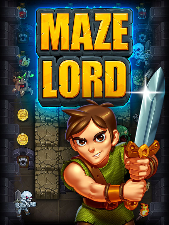 Maze Lord iOS Screenshots
