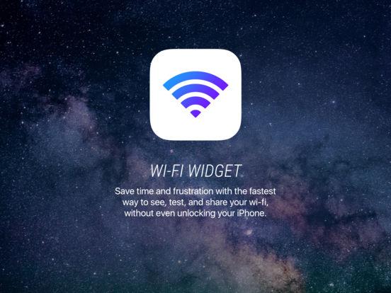 Wi-Fi Widget Screenshot