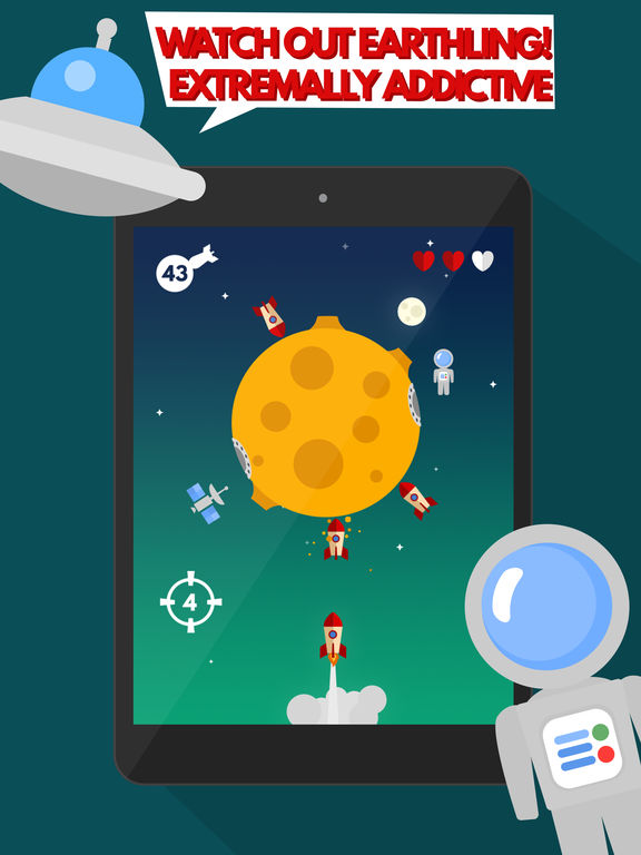 Space Settlers: Spinning wheel iOS Screenshots