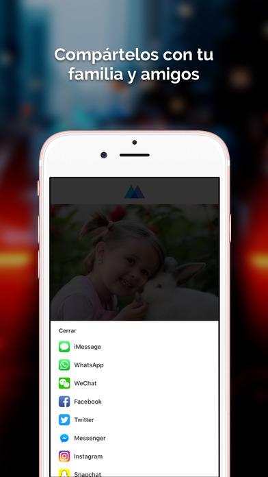 Momento - Da Vida a Tus Fotos Screenshot