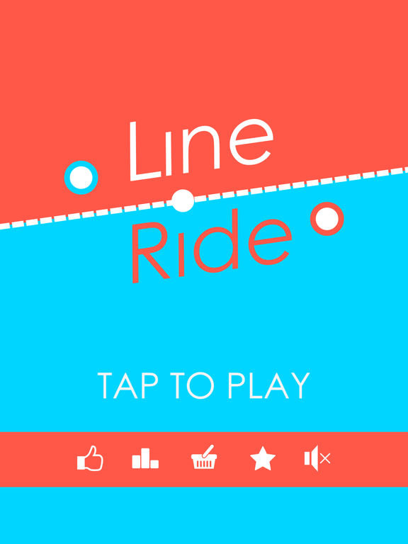 Line Ride iOS Screenshots