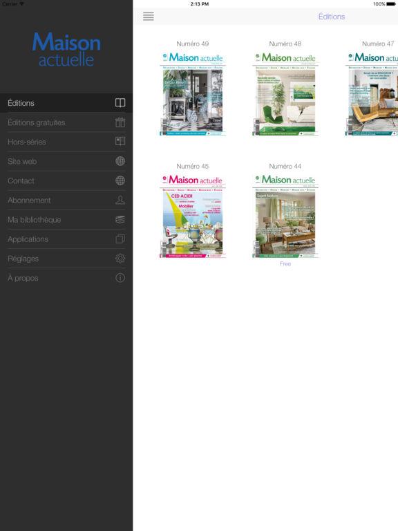Maison actuelle par presstalis for Application ipad construction maison