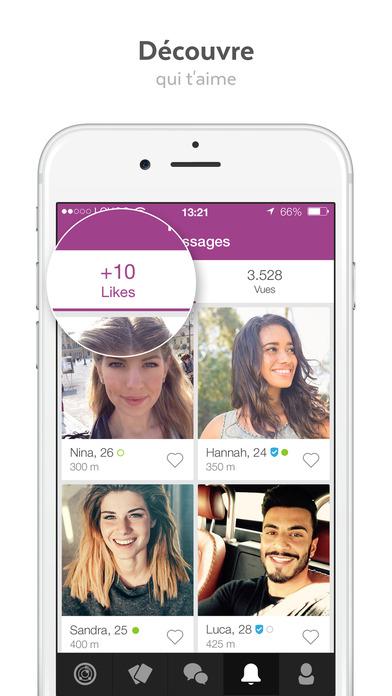 download LOVOO – App pour rencontre tchat et flirt apps 3