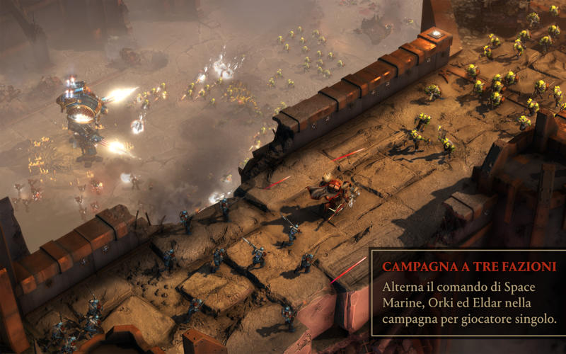 Warhammer® 40,000®: Dawn of War® III Screenshot