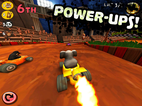 Screenshot 4 Safari Kart