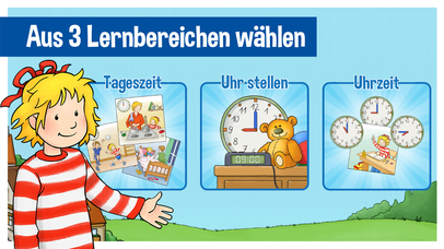 Screenshot for Conni Uhrzeit in Germany App Store