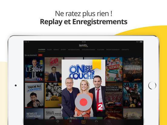 Molotov : TV en direct, replay TV, et plus... iPad