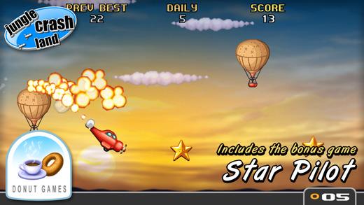 Jungle Crash Land Screenshot