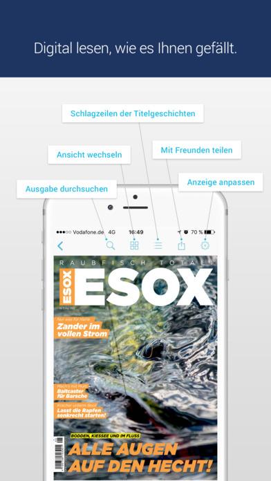 ESOX - Angel Raubfisch Magazin m. Tests & Berichte