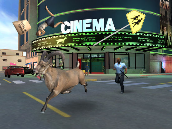 Screenshot 4 Goat Simulator PAYDAY