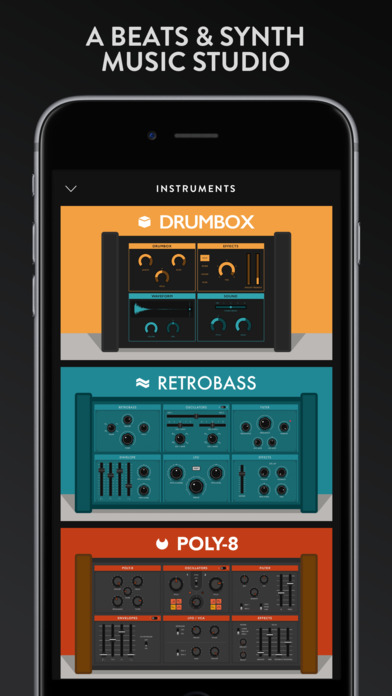 Groovebox - Beats & Synths Music Studio Screenshot