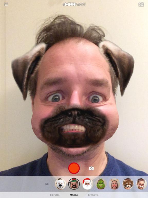 MRRMRR - Filtri in tempo reale video selfie Screenshot