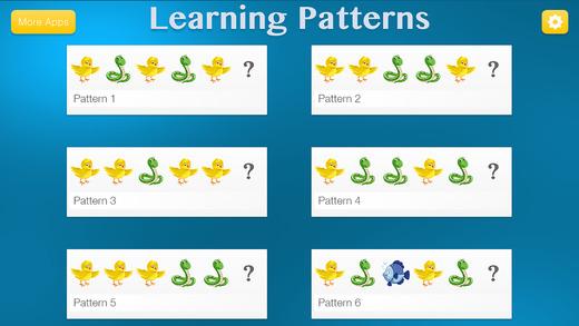 Learning Patterns - Pattern & Logic Game for Kids Screenshot