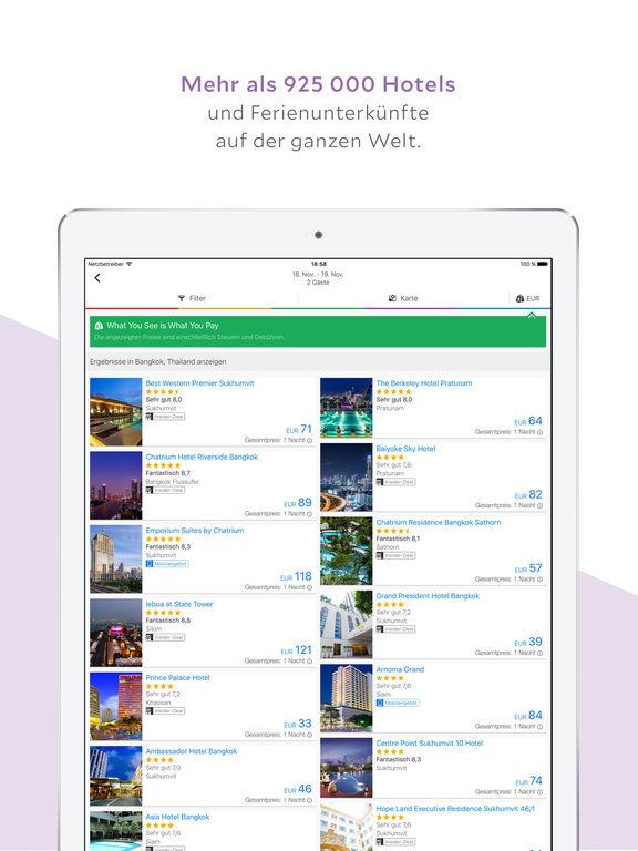 Agoda – Hotelangebote weltweit! Screenshot