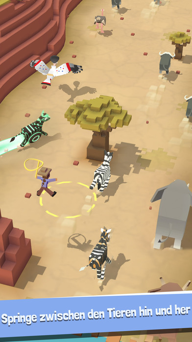 Screenshot 3 Rodeo Stampede - Sky Zoo Safari