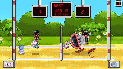 Pixel Volley iOS Screenshots