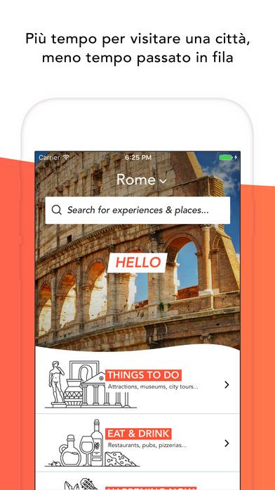 Musement - Attività di viaggio Screenshot
