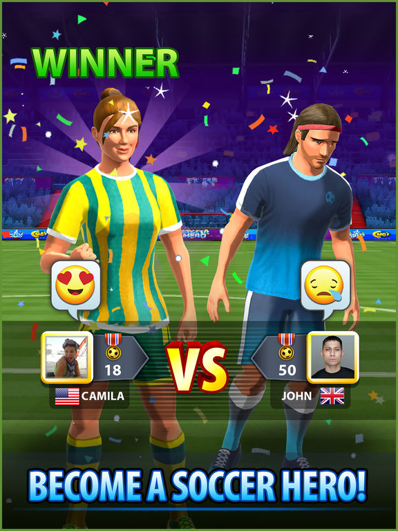 Screenshot 5 Soccer! Hero